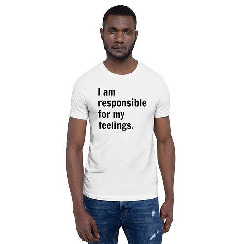 I Am Responsible (Black Text)