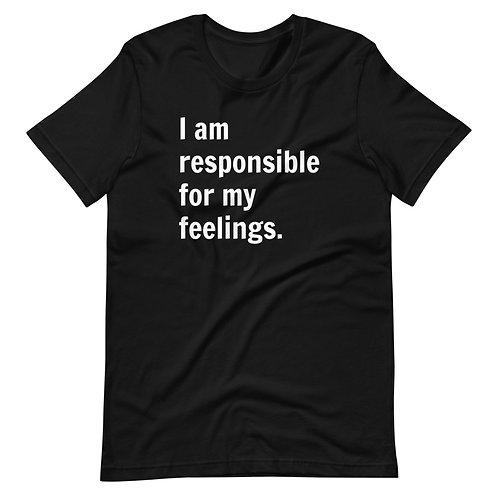 I Am Responsible (White Text)