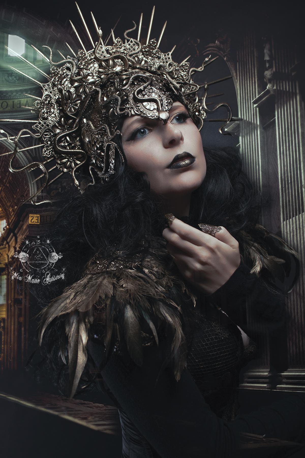 Medusa Kopfschmuck Medusa Kostüm