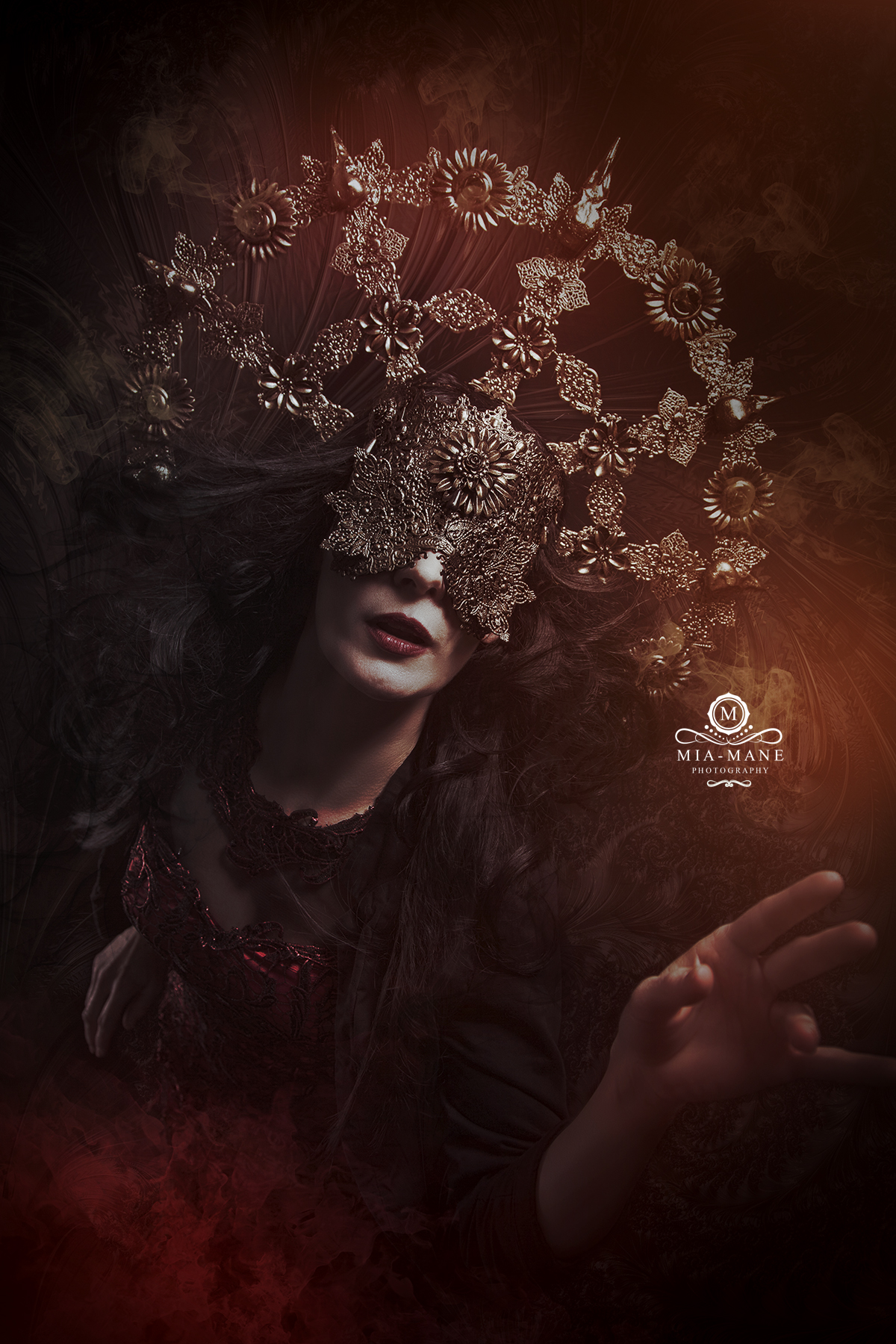 Blind Mask / Fantasy Headpiece