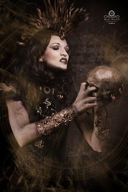 Pagan Shaman Medusa Kopfschmuck