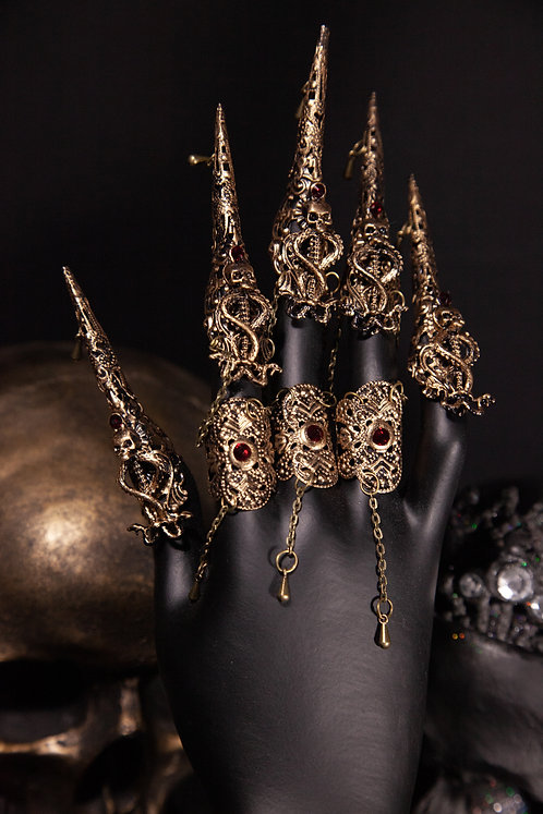 """MEDUSA METAL CLAWS """"SNAKE PASSION"""""""