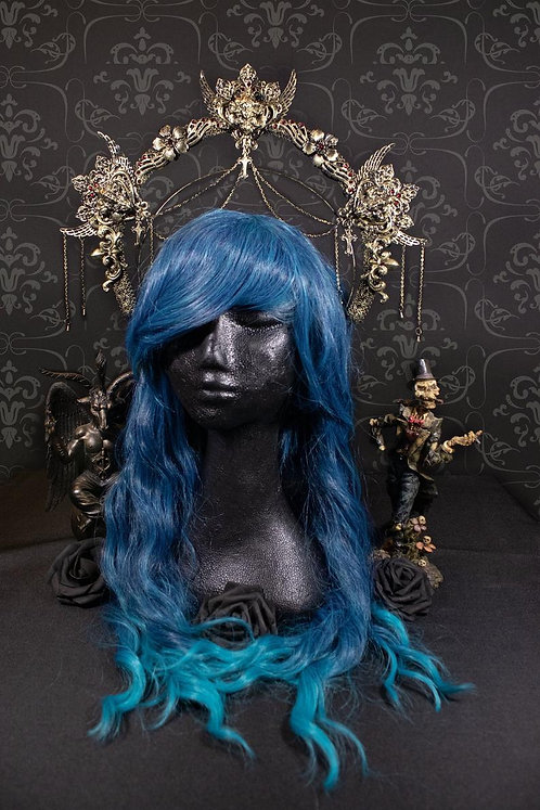 "HALO HEADDRESS ""VICTORIA II"""