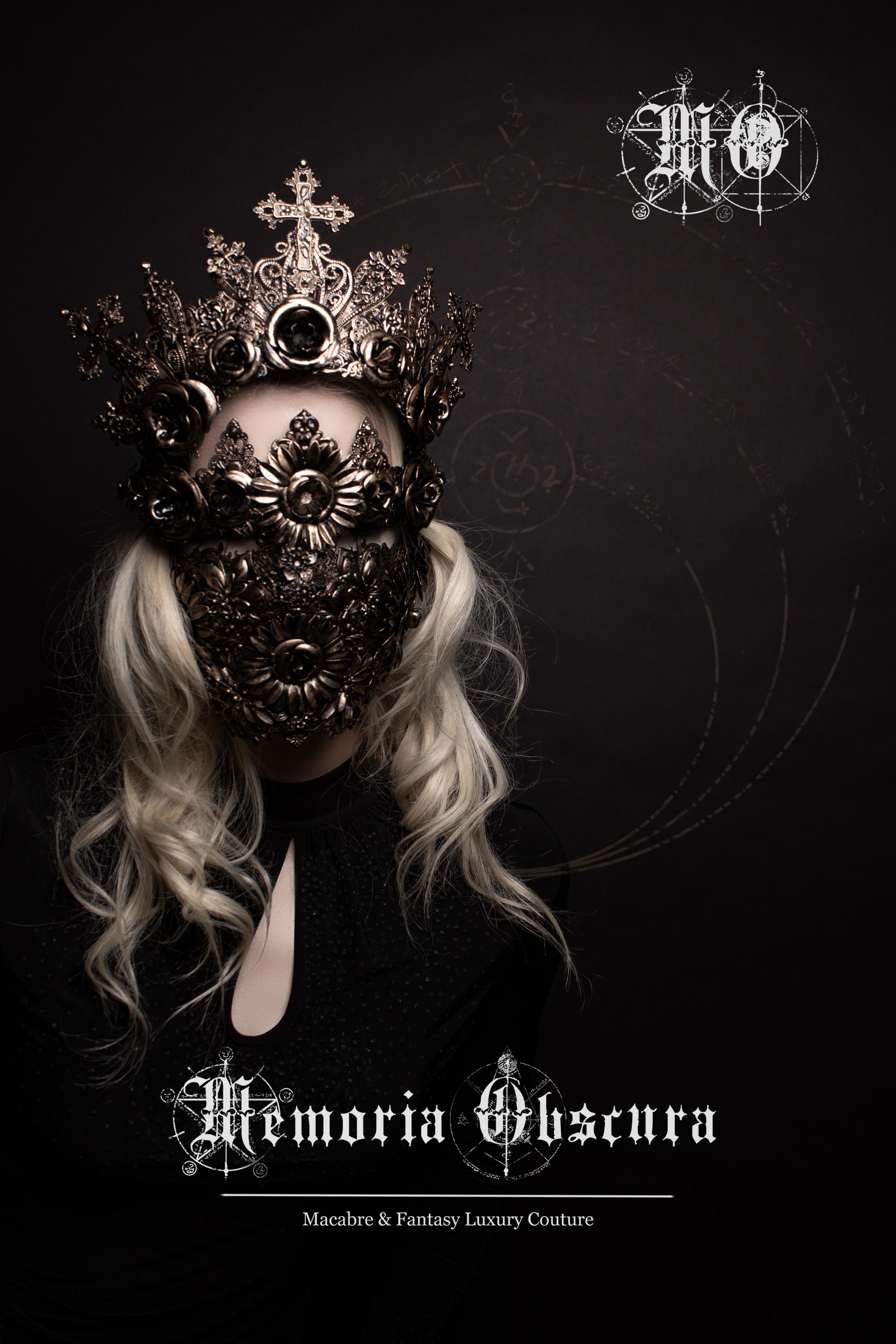 Blind Mask Blinde Maske
