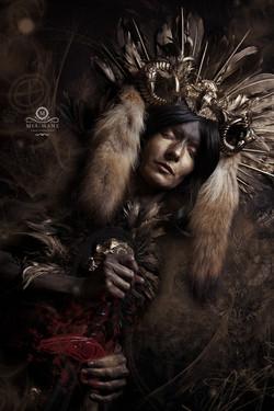Pagan Shaman Medusa Costume
