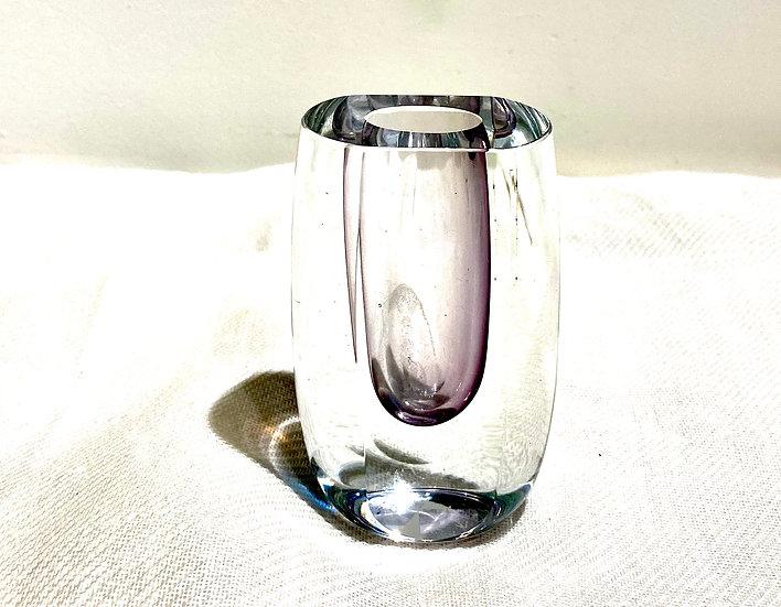 Mini Vaso de Cristal Lilas