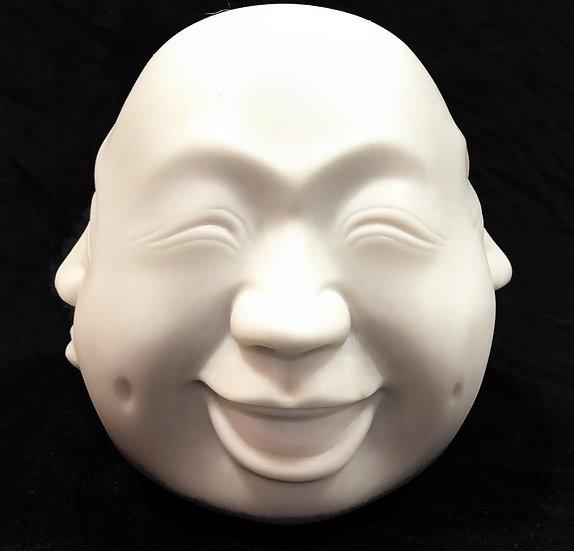 Buda Faces Expressões Branco