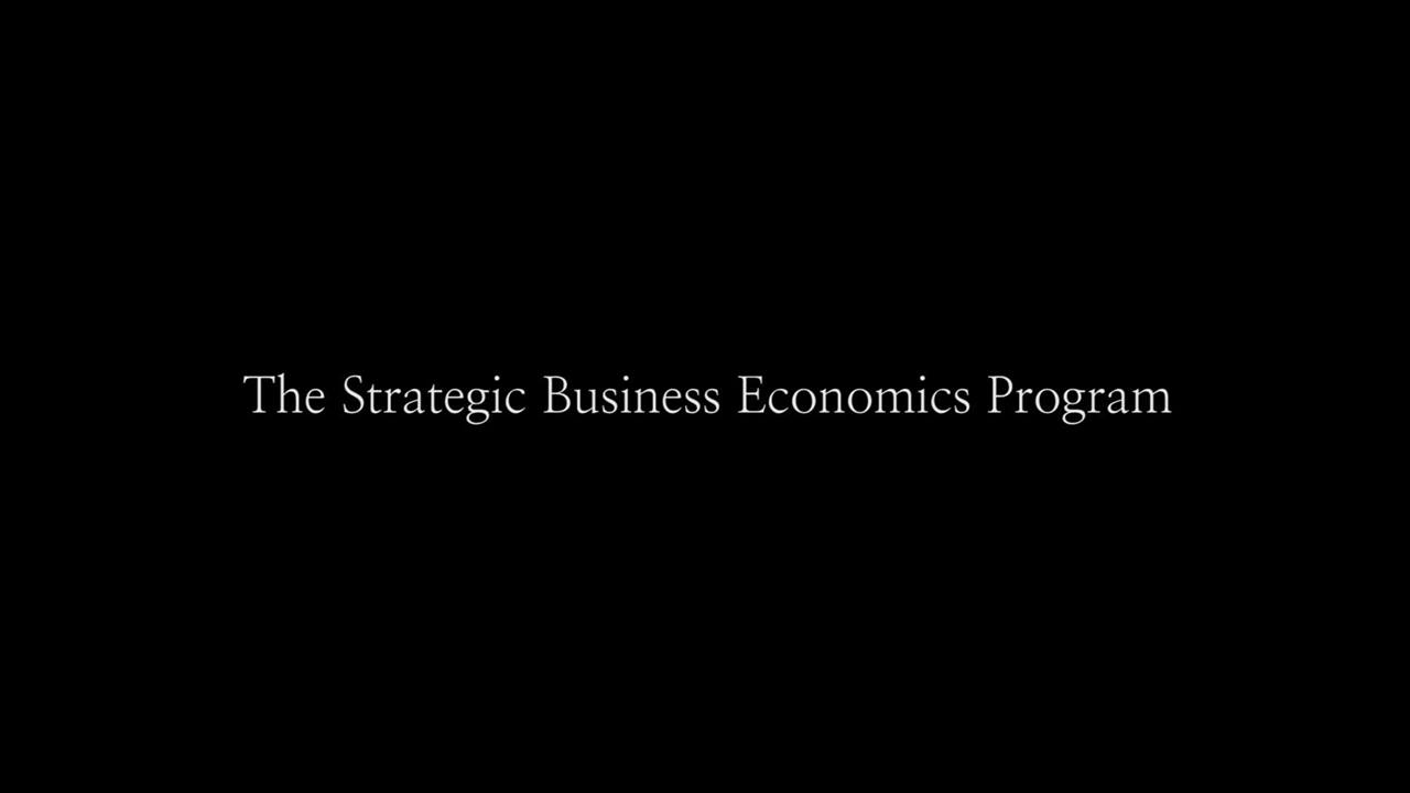 UA&P's Strategic Business Economics Program