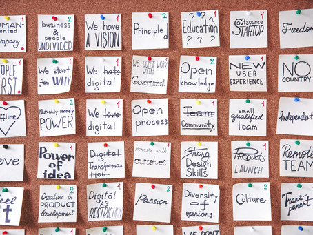 Getting Your Core Values Off Your Walls