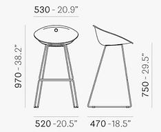 מידות כיסא בר GLISS 906.png