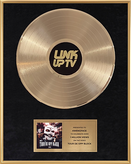 Gold Record Award Link Up TV Black Premium .png