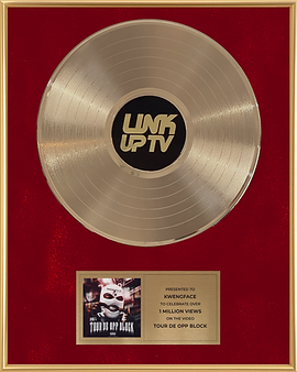 Gold Record Award Link Up TV Red Premium .png