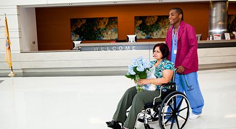 cancer patient discharge