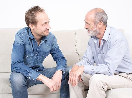 Two men talking .jpg