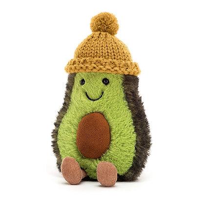 Jellycat Amuseable Avocado - Gelb