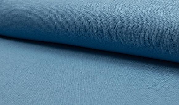 Bündchen Dusty Blue / Schlauchware