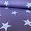 """Thumbnail: Baumwolle """"Big Star - Flieder"""""""