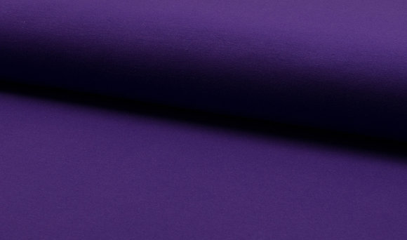 French Terry Frieda - Farbe: Purple