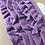 Thumbnail: Jerseyvolant, lila, 3,0 cm