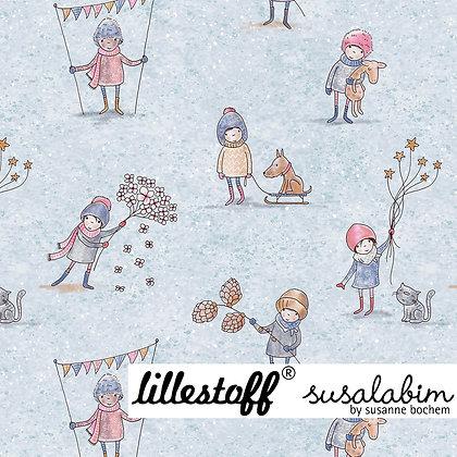 """Lillestoff Sommersweat by Susalabim """"Winterwichtel"""""""
