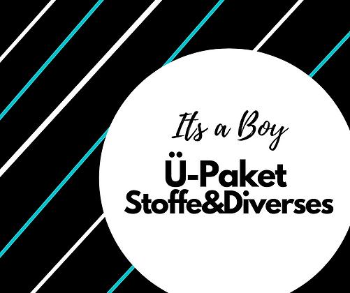 "Geschenkpaket ""Its a Boy"" Stoffe&Diverses"