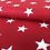 "Thumbnail: Baumwolle ""Big Star - Rot """