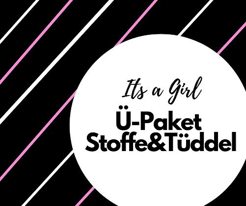 """Geschenkpaket """"Its a Girl"""" Stoffe&Tüddel"""