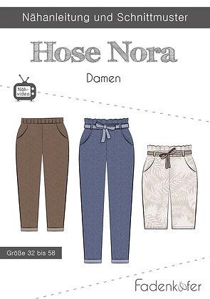 Papierschnittmuster Fadenkäfer - Hose Nora - Damen