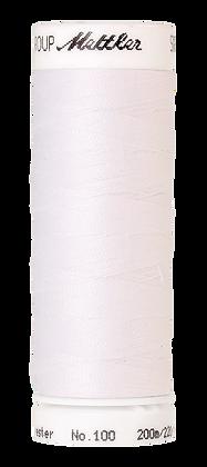 Mettler Seralon - Nähgarn 200M Weiß