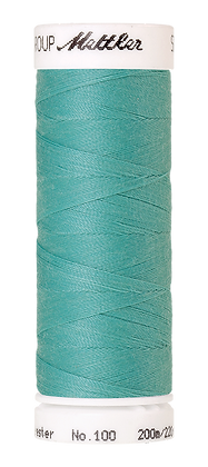 Mettler Seralon - Nähgarn 200M Blau/Grün