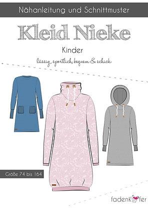 Papierschnittmuster Fadenkäfer - Kleid Nieke - Kids