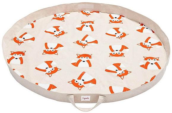 Spielzeugmatte / Spielzeugsack - Fuchs Orange