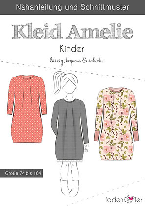 Papierschnittmuster Fadenkäfer - Kleid Amelie - Kids