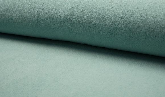 """Baumwollfleece """"Florian"""" - Farbe: Dusty Mint"""