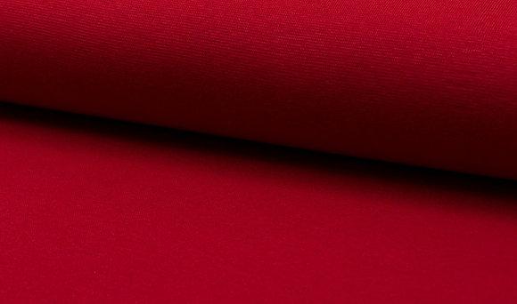 Bündchen Rot / Schlauchware