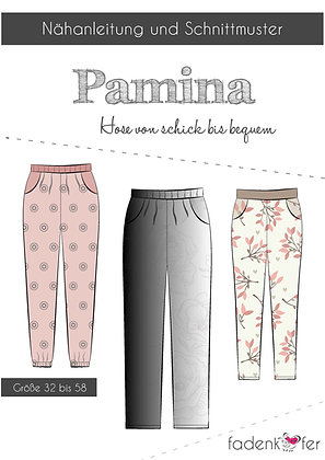 Papierschnittmuster Fadenkäfer -Pamina Hose - Damen