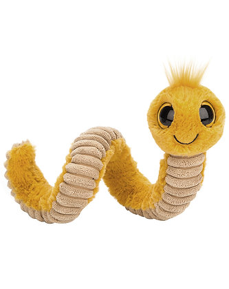 Jellycat WIGGLY WORM (16cm) in gelb