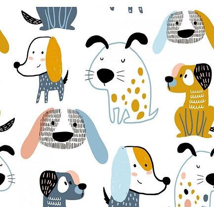 """Jersey Stoffkids """"Pets - Dogs"""""""