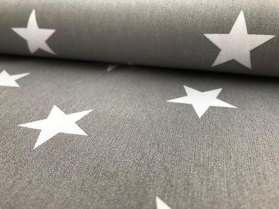 """Baumwolle """"Big Star - Grau"""""""