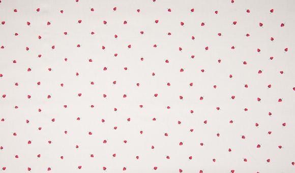 """Baumwolle """"kleine Erdbeere"""""""