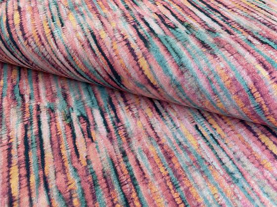"""Bio Jersey """"Batik Light Stripes"""""""