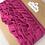Thumbnail: Jerseyvolant, pink , 3,0 cm