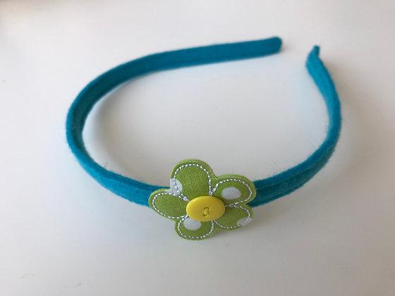 Harrreifen - Blau/Grün