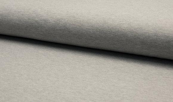 Uni French Terry Frieda - Farbe: Grau Melange