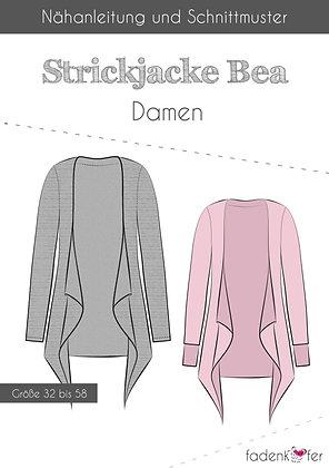 Papierschnittmuster Fadenkäfer - Strickjacke Bea - Damen