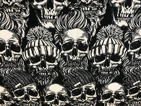 """French-Terry """"Hipstar Skulls"""""""