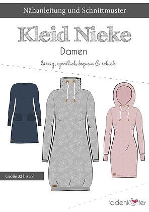 Papierschnittmuster Fadenkäfer - Kleid Nike  - Damen