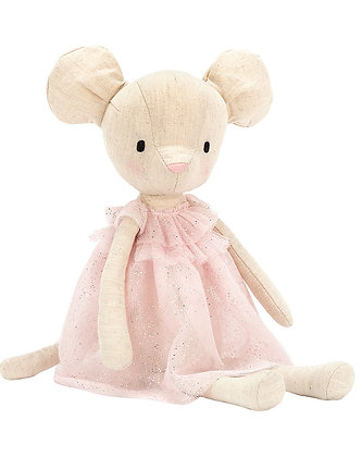 Jellycat JOLIES MOUSE (30cm) in rosa