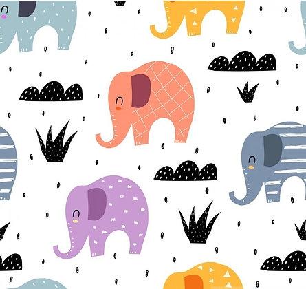 """Jersey Stoffkids """"bunte Elefanten"""""""
