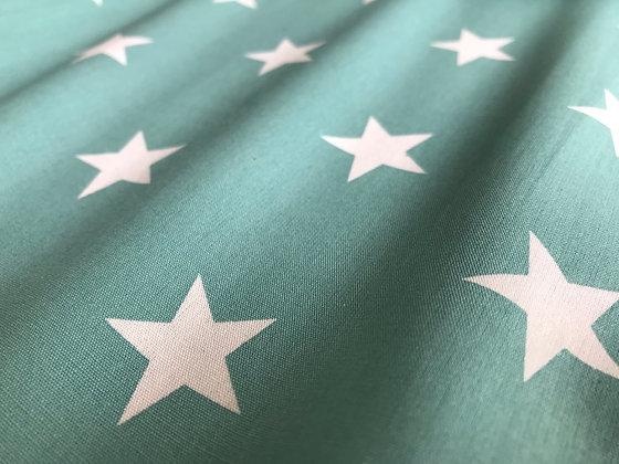 "Baumwolle ""Big Star - Mint"""